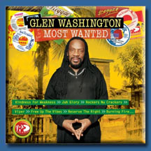 Glen Washington - Most Wanted CD